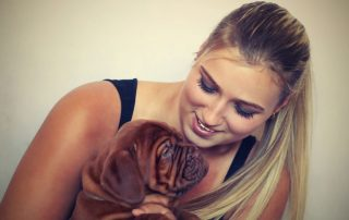 Build a loving relationship with your pet.